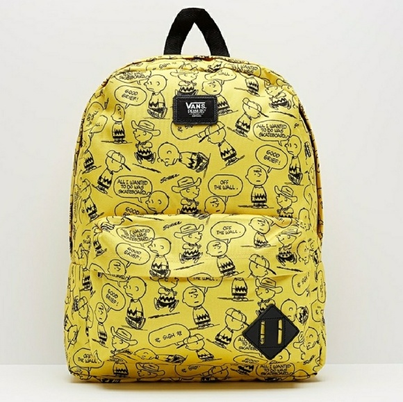 Vans | Peanuts Charlie Brown Backpack NWT
